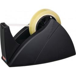 Tischabroller Tesa 66m x 25mm schwer Easy Cut leer schwarz 1 St