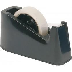 Tischabroller für Rollen bis 25 mm x 66 m schwarz rutschfest