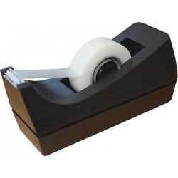 Tischabroller für Klebeband Rollen bis 19mmx33m schwarz rutschfest