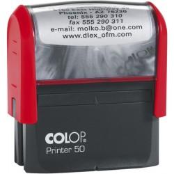 Textstempel PrinterLine 69x30mm 7zeilig inkl. Gutschein