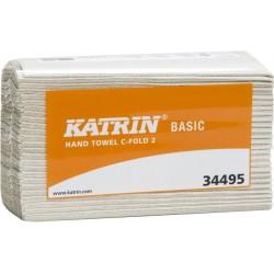 Papierhandtuch C-fold 2lagig Lagenfalz 24x33cm naturweiß 3000St.