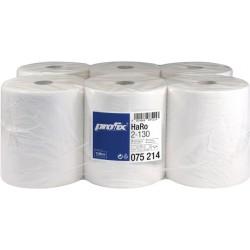 Papierhandtuch 2lg. auf Rolle 21cmx130m hochweiß 6 Rollen
