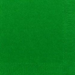Duni Servietten Zelltuch 3lagig 1/4 Falz 24x24cm grün jägergrün 250St.