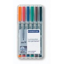 OHP-Stift Projektionsschreiber Lumocolor 315 wasserlöslich 6er Set