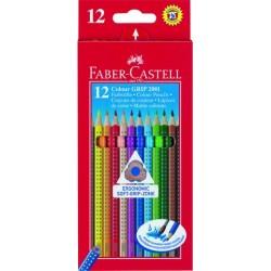 Farbstift Buntstifte Faber Castell Colour GRIP 2001 Pckg. á 12 St.
