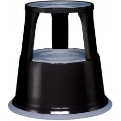 Tritthocker Rollhocker Metall 29x44cm 4,9kg Wedo schwarz