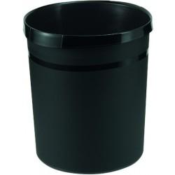Papierkorb HAN GRIP PP rund 18l 312x345mm schwarz (1 Stück)