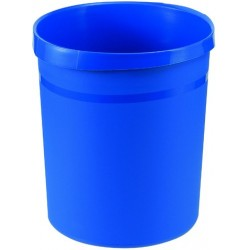 Papierkorb HAN GRIP PP rund 18l 312x345mm blau (1 Stück)