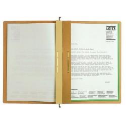 Hängehefter Leitz 1987 ALPHA® kfm.-/Amtsheft. A4 braun 1St.