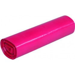 Müllsack LDPE STARK 120l 700x1100mm rot Rolle á 25 Stück