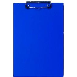 Klemmbrett VELOFLEX Schreibplatte Klemme kurze Seite A4 blau