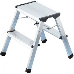 Leiter Klapptritt HAILO ProfiStep® Aluminium 2x2 Stufen 1,8kg