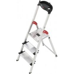 Leiter HAILO ProfiStep® XXL Aluminium 3 Stufen Tragf. 150kg