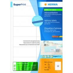 Etikett Herma 4669 SuperPrint STAMPIT® sk Papier 96,5x42,3mm weiß