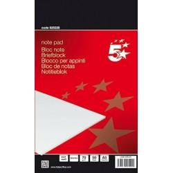 Briefblock DIN A5 blanko 50 Blatt holzfrei 70g weiß / 1 St.