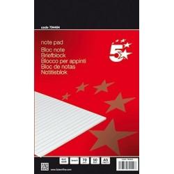 Briefblock DIN A5 liniert 50 Blatt holzfrei 70g weiß / 1 St.