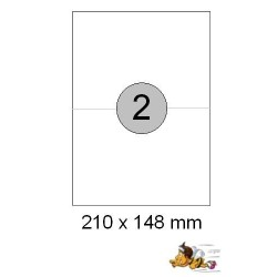 Etiketten Selbstklebe-Etiketten 210x148,5mm E15 (600 Stück = 3 Päckchen)