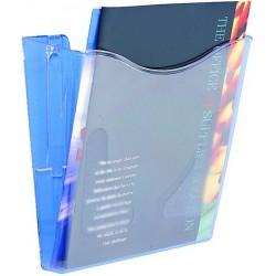 Prospekthalter zur Wandbefestigung 1 Fach A4 hoch farblos transparent