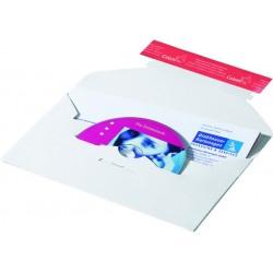 CD-Versandtasche Karton für 1 CD sk 221x123mm VE=10 Stück