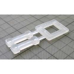 Kunststoffschnallen für 12mm Band E2 (1000 Stück)