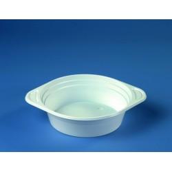 Suppenterrine PP mit Anfasser rund 500ml Ø 15,6cm weiß 10 Stück