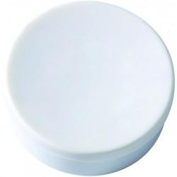 Magnet rund Ø 35mm für 15 Blatt weiß (Pckg. á 10 Stück)
