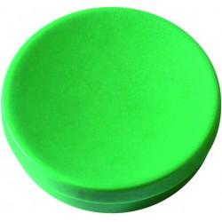 Magnet rund Ø 30mm Haftkraft 0,85kg grün (Pckg. á 10 Stück)
