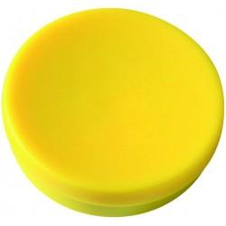 Magnet rund Ø 30mm Haftkraft 0,85kg gelb (Pckg. á 10 Stück)