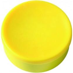 Magnet rund Ø 35mm Haftkraft 2,5kg gelb (Pckg. á 10 Stück)