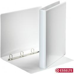 Ordner Präsentationsringbuch A4 4-D-Ring-Mechanik Ring-Ø 20mm weiß