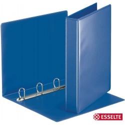 Ordner Präsentationsringbuch A4 4-D-Ring-Mechanik Ring-Ø 30mm blau