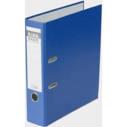 Ordner Elba RADO Einsteckrückenschild A4 80mm blau