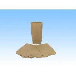 Bodenbeutel braun für 1kg 16,5x26cm Natron 70g/m² 500 St.