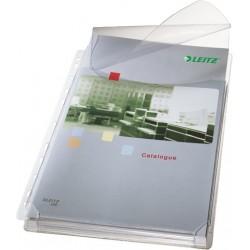 Prospekthülle Leitz 4757 A4 Klappe PVC genarbt VE: 5 St.