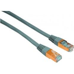 Netzwerkkabel Patchkabel CAT 5e Stecker 2xRJ45-ST/ST 3m grau