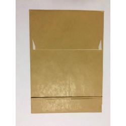 Faltentaschen Seitenfaltentaschen C5 162x229 mit 40er Falte Klotzboden braun (25 St.)