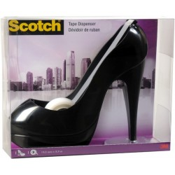 Scotch Tischabroller Fashion Schuh schwarz für Kleberollen bis 19mmx8,9m