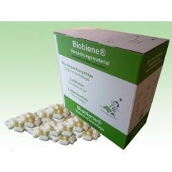 Weisse Biobiene®Verpackungschips (200 Liter) im Spendekarton