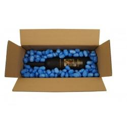 Frankreichblau Biobiene® Verpackungschips (200 Liter) im Spendekarton