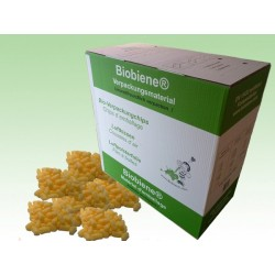 GELBE Biobiene®Verpackungschips (200 Liter) im Spendekarton