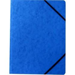 Eckspanner Karton 355g/m² Eckspanngummi A4 blau