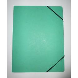 Eckspanner Karton 355g/m² Eckspanngummi A4 grün