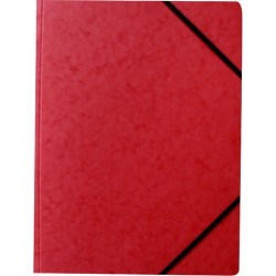 Eckspanner Karton 355g/m² Eckspanngummi A4 rot
