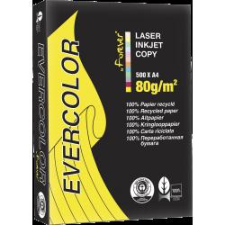 Kopierpapier A4 80g Druckerpapier Blauer Engel Recyclingpapier Gelb intensiv (500 Blatt)