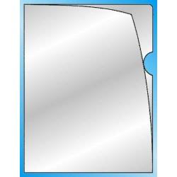 Aktenhülle A4 glasklar PVC VELOFLEX 4548 o+r offen VE=50 Stück