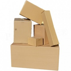 KARTON Post-Päckchen-Faltkarton 590x290x140mm P5 (100 Stück)