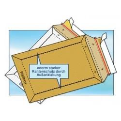 Versandtaschen Kartontaschen für DIN A5 (100 Stück) Weiss