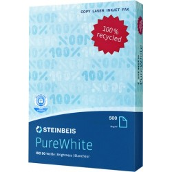 Kopierpapier A3 80g weiß Steinbeis Pure White 90 500 Blatt