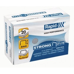 Heftklammer Rapid STRONG 21/4 verzinkt (VE= 5000 St.)
