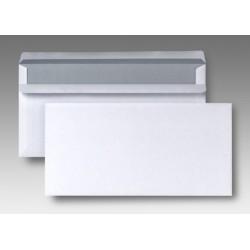 Briefumschlag Kompakt weiß o. Fenster SK 125x235mm 100St.